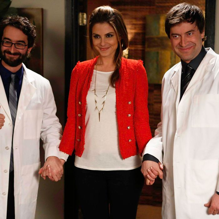 THE MINDY PROJECT: Maria Menounos guest-stars as herself in the all-new
