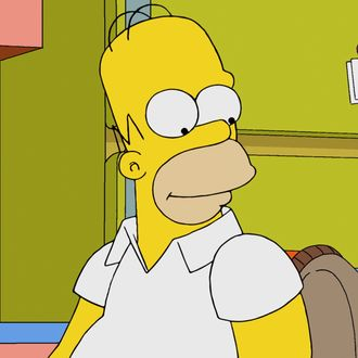 THE SIMPSONS: Homer takes Lisa with him for