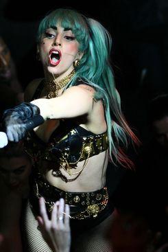 SYDNEY, AUSTRALIA - JULY 12:  Lady Gaga plays live on stage at Arq nightclub on July 12, 2011 in Sydney, Australia.  (Photo by Don Arnold/WireImage)