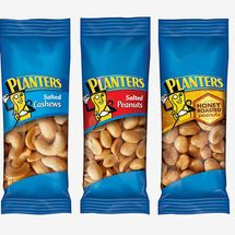Planters Variety Packs (Salted Cashews, Salted Peanuts & Honey Roasted Peanuts), 36 Count