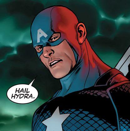 Captain America Said 'Hail Hydra' and Comics Exploded