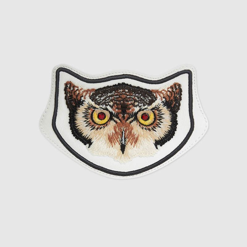 Embroidered Owl Applique