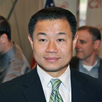 NEW YORK, NY - SEPTEMBER 21: New York City Comptroller John C. Liu attends the ribbon cutting ceremony at the grand opening of the Upper West Side's Century 21 department store on September 21, 2011 in New York City. (Photo by Slaven Vlasic/Getty Images)