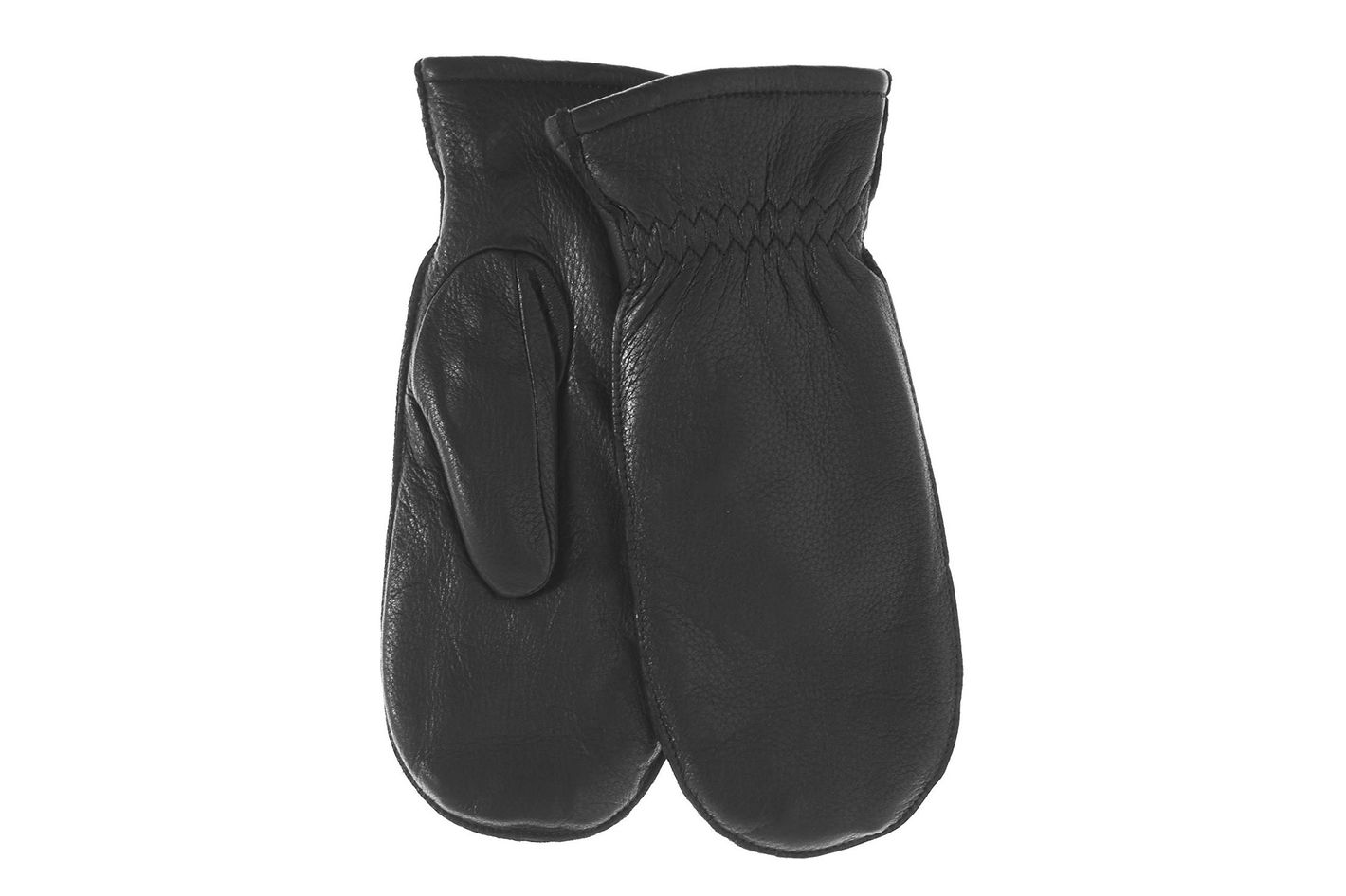 b17b23e784e7d Pratt and Hart Women's Winter Deerskin Leather Mittens With Finger Liners