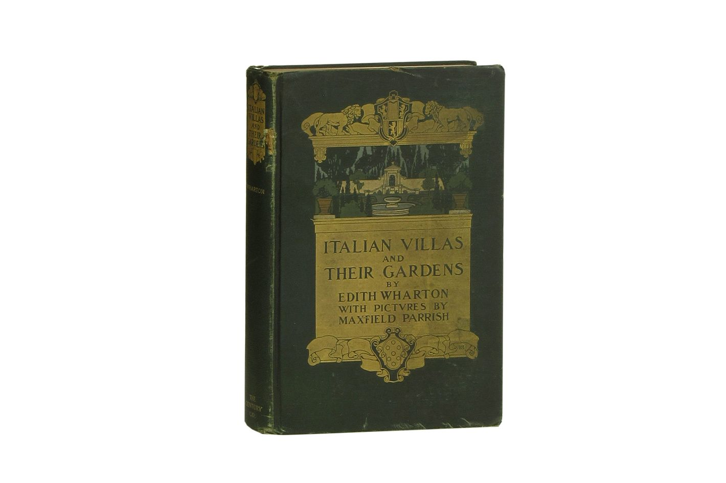 Italian Villas and Their Gardens by Edith Wharton and Maxfield Parrish