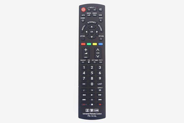 Panasonic N2QAYB000485 Universal Remote Control for All Panasonic BRAND TV, Smart TV - 1 Year Warranty
