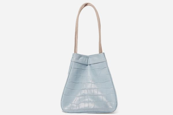 Rejina Pyo Rita Croc-Effect Leather Bucket Bag