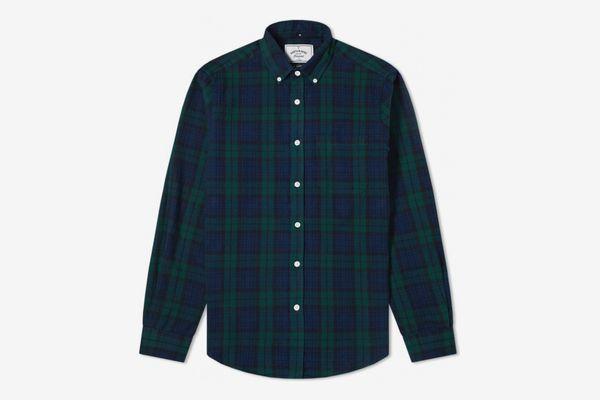 Portuguese Flannel Button-down Bonfim Check Shirt