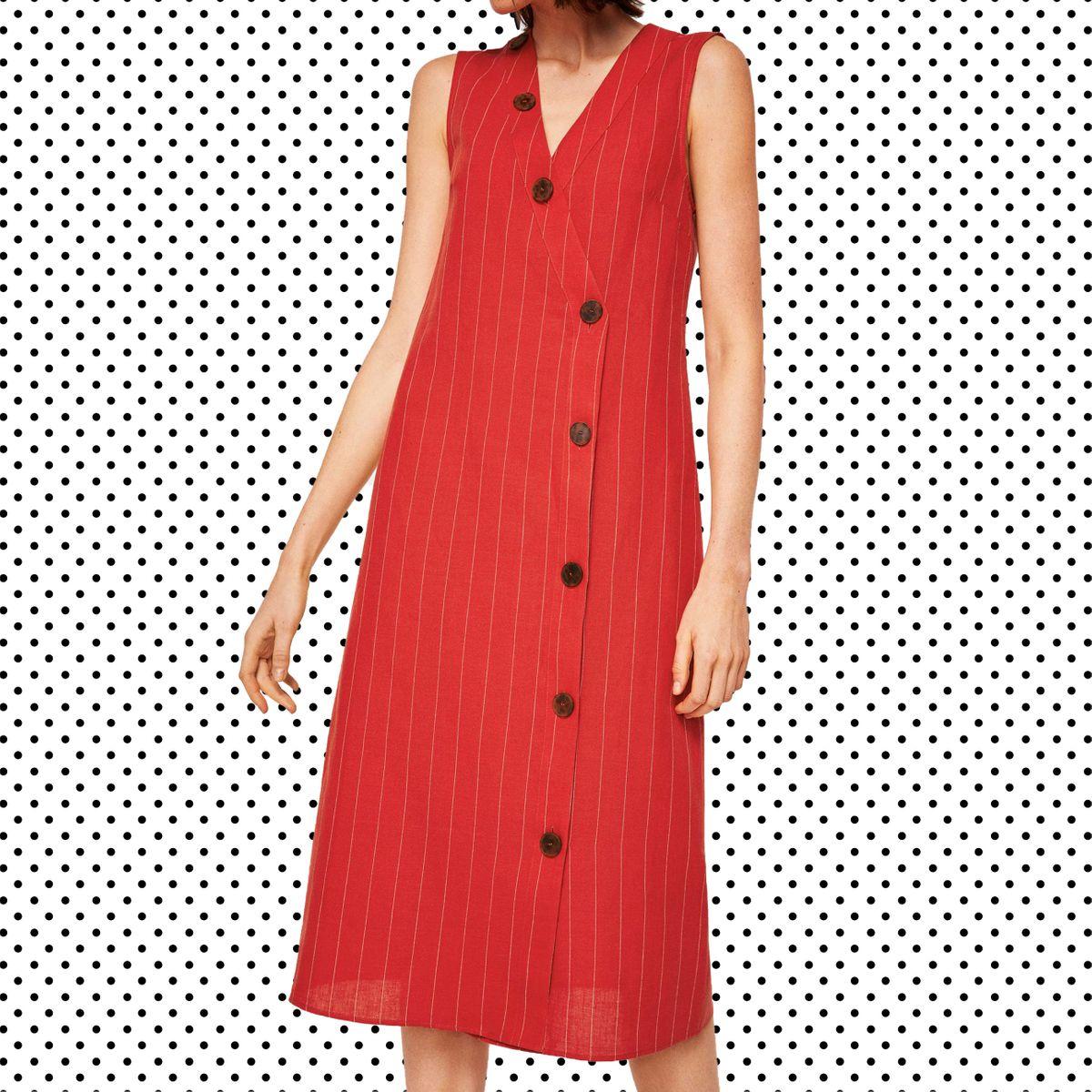 4469243a3238 13 Best Linen Dresses for Summer 2018