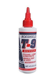 Boeshield T-9 Bicycle Chain Waterproof Lubricant and Rust Protection