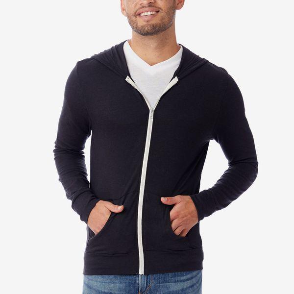 Alternative Apparel Basic Eco-Jersey Zip Hoodie