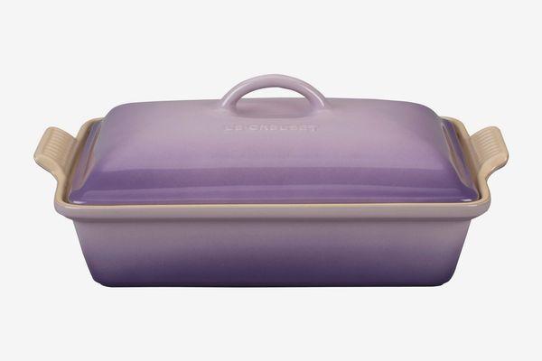 Le Creuset 4-Quart Heritage Rectangular Covered Baking Dish