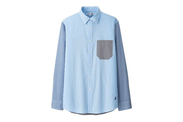 Men JWA Cotton Broadcloth Long-Sleeve Shirt