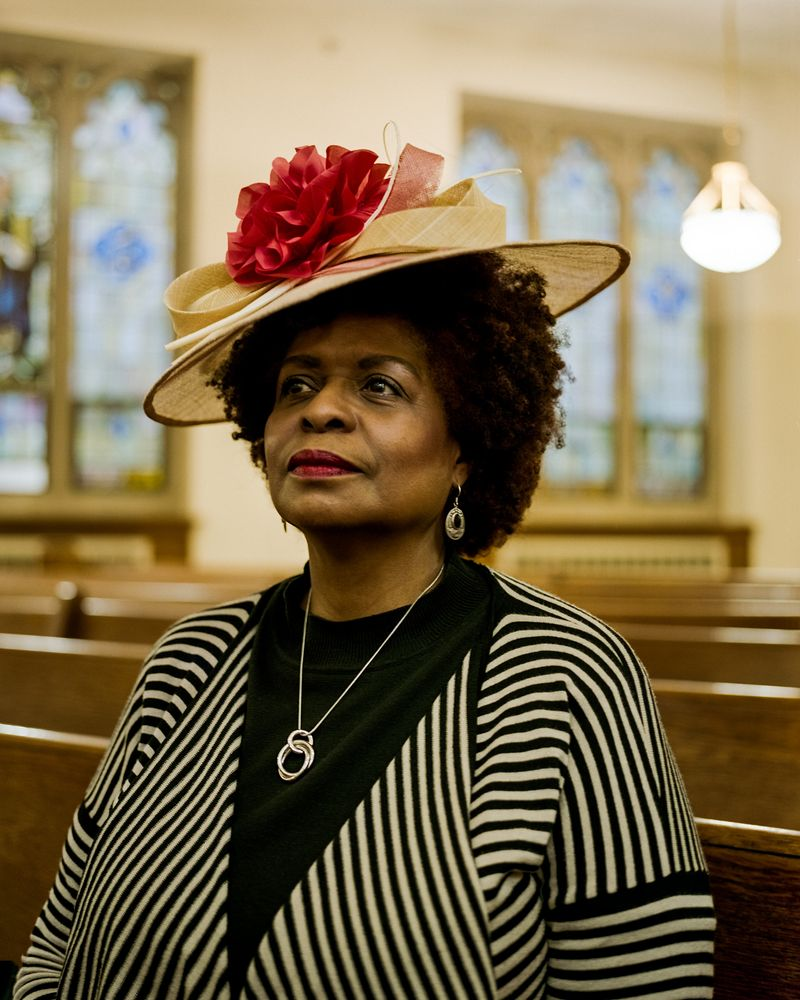 Easter Hats At The Abyssinian Baptist Church In Harlem