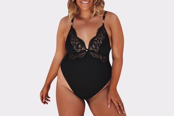 Bliss Black Bodysuit