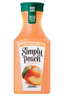 Simply Peach All Natural Juice Drink