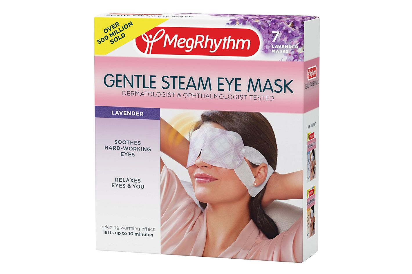 MegRhythm Lavender Gentle Steam Eye Mask