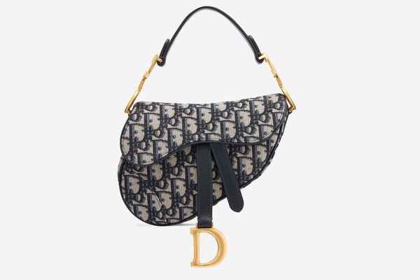 Dior Mini Oblique Saddle Bag