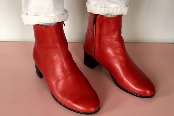 Hopp Zip-Up Ankle Boot