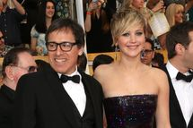 LOS ANGELES, CA - JANUARY 18:  Director David O. Russell and actress Jennifer Lawrence  attends the 20th Annual Screen Actors Guild Awards at The Shrine Auditorium on January 18, 2014 in Los Angeles, California.  (Photo by Frederick M. Brown/Getty Images)