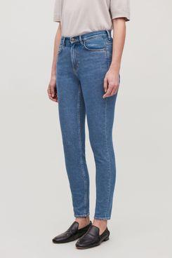 COS Skinny Leg Jeans, Mid Blue