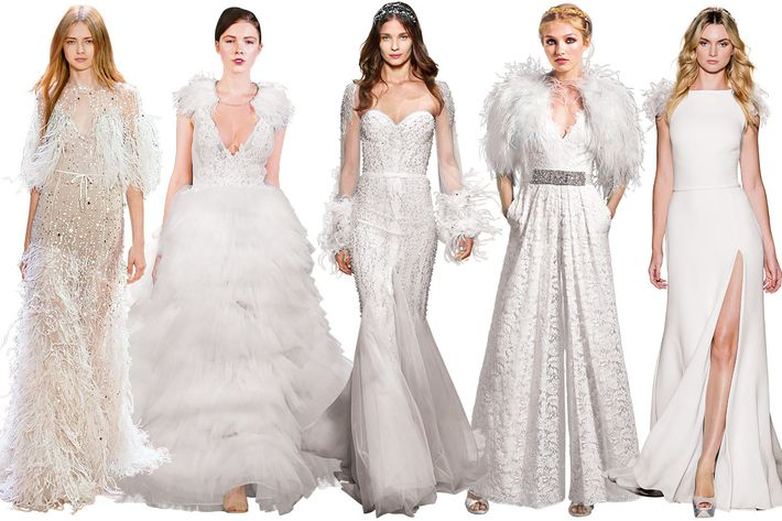Hunter Green Wedding Dresses