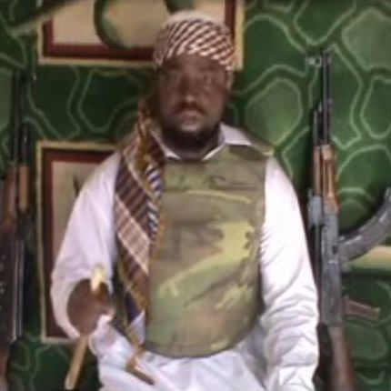 Shekau, the Boko Haram leader.