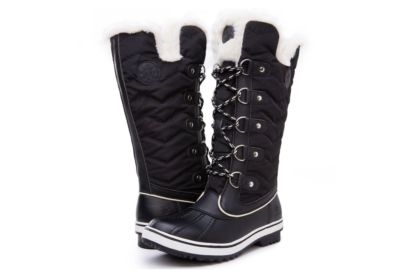342050b9f0f6 Best quilted snow boots. Kingshow Women s Global Win Waterproof Winter Boots