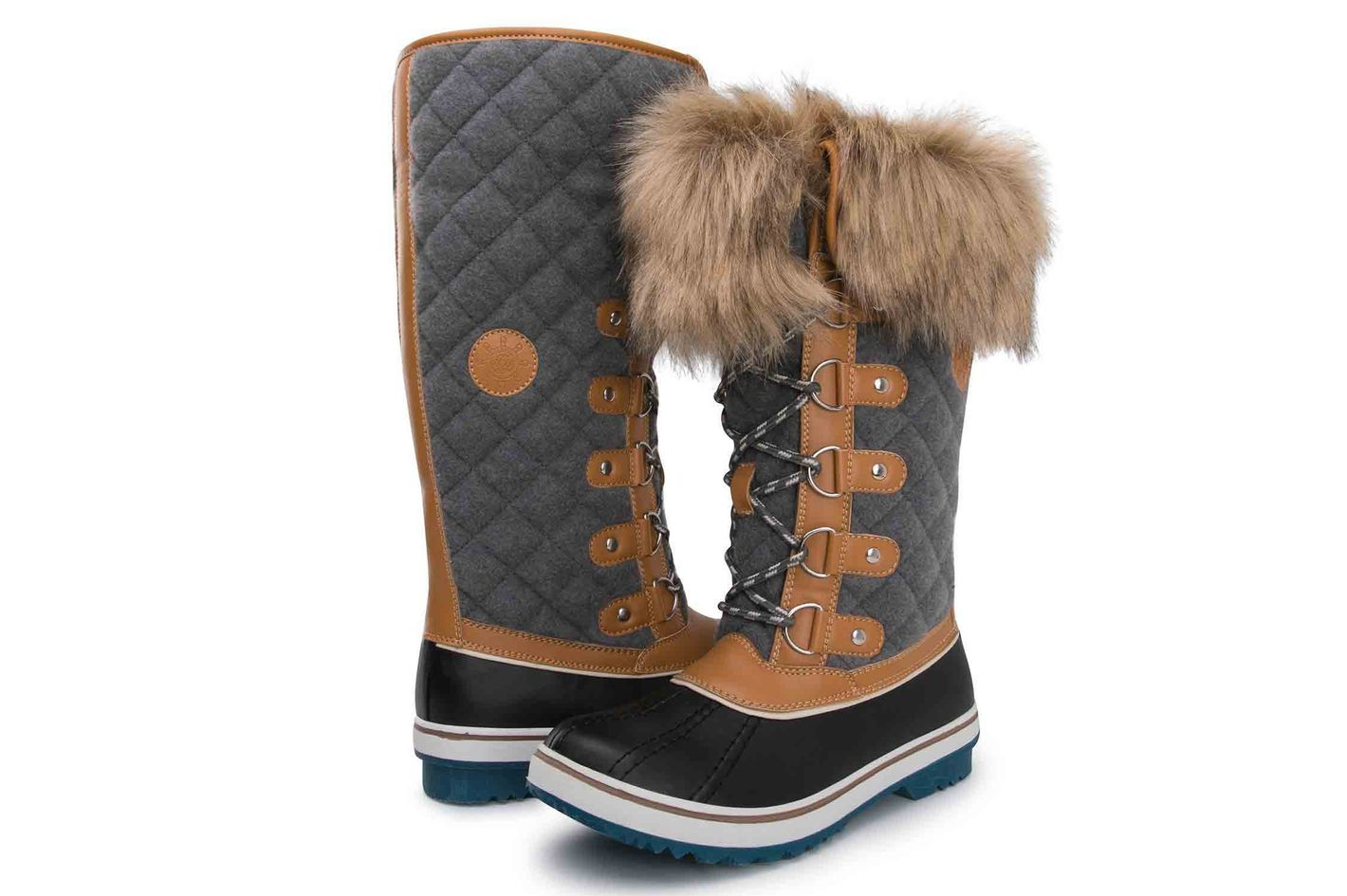 Best Winter Fashion Boots for Women 2018  Stylish Snow Boots d623368228