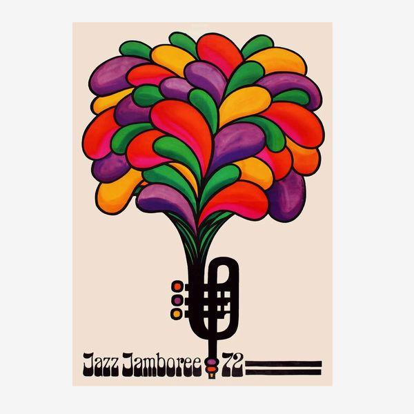 1972 Jazz Festival Poster