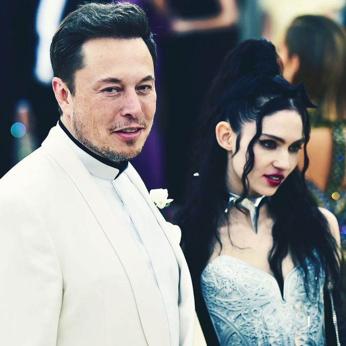 Elon Musk and Grimes Unfollow Each Other on Social Media