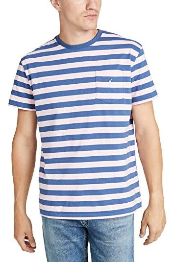 Polo Ralph Lauren Short Sleeve Striped Pocket Tee