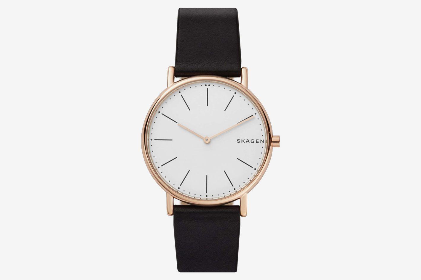Signatur Slim Satin Strap Watch, 30mm
