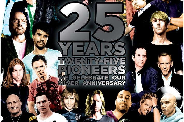 DJ Magazine's 25th Anniversary Cover