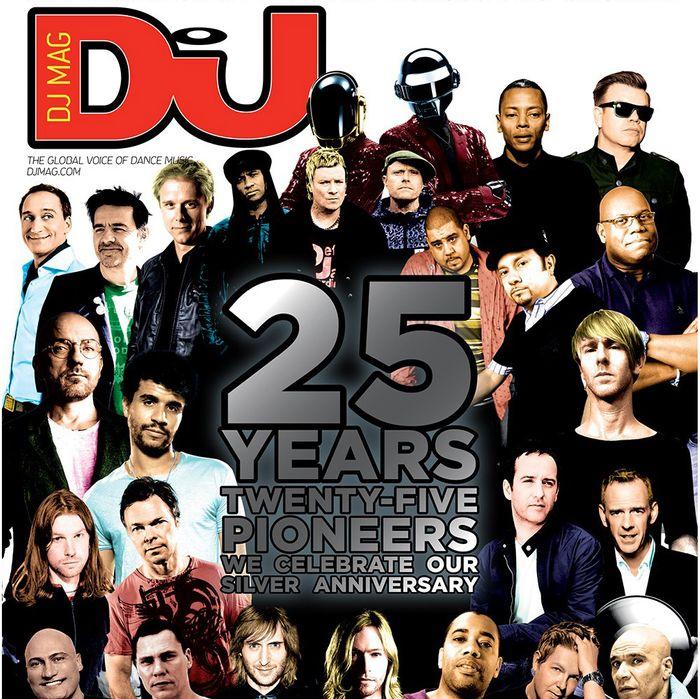 DJ Magazine's 25th Anniversary Cover