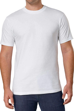 Kirkland Signature Men's 100% Cotton Classic Fit Tee 3 Pack