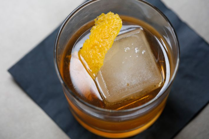 Edward's Lemonade: an old-fashioned with orange bitters.