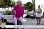 Overheated and Loopy Paula Deen Dances on Today