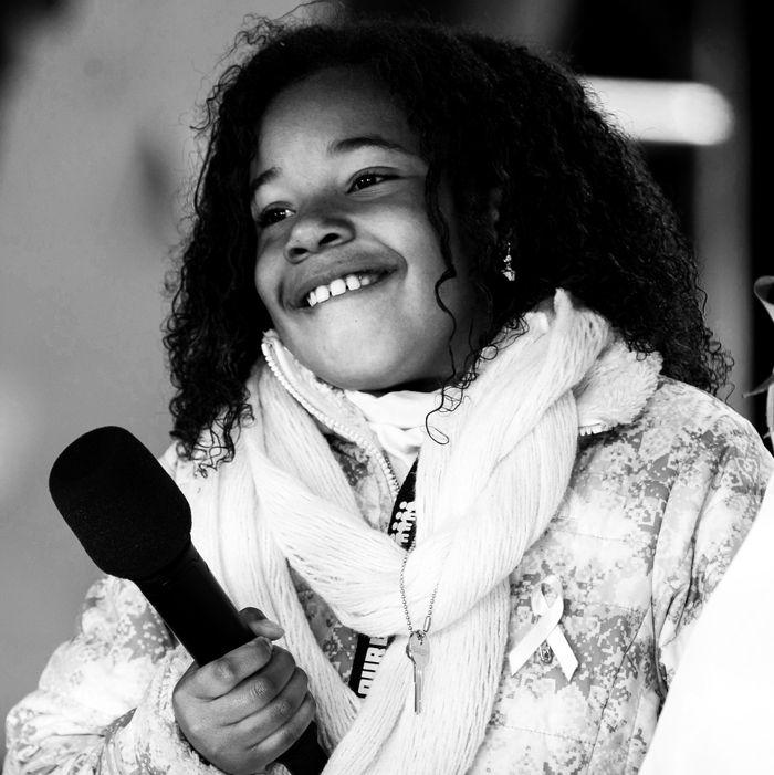 Yolanda King, Martin Luther King Jr.'s granddaughter.