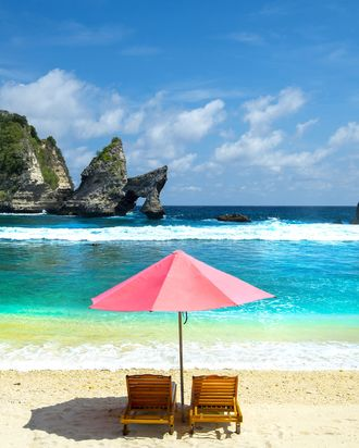 A beach in Bali.