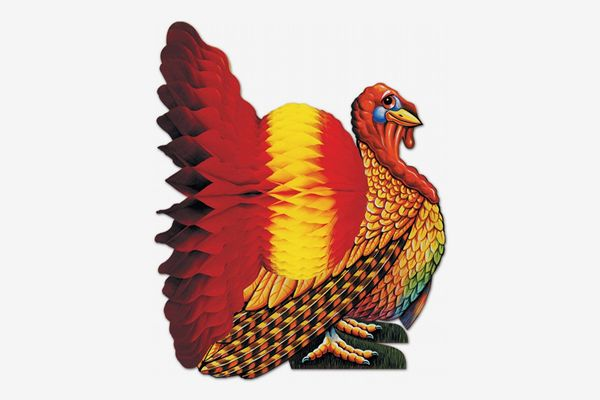 Beistle Tissue Turkey Centerpiece