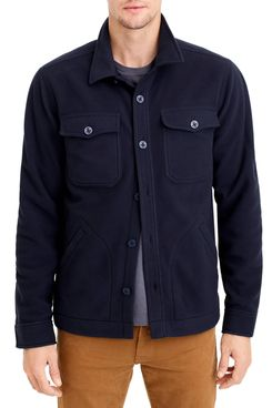 J.Crew Polar Fleece Overshirt
