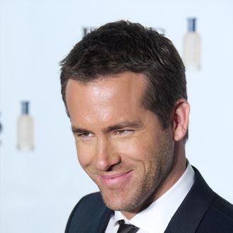 MADRID, SPAIN - NOVEMBER 26: Actor Ryan Reynolds attends the