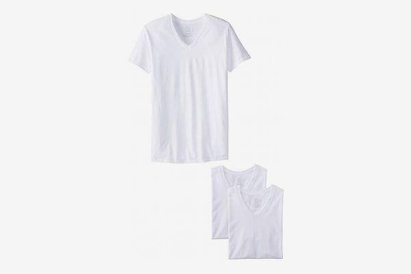 Fruit of the Loom Men's V-Neck T-Shirt (Pack of 3)