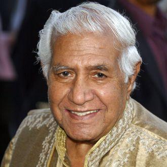 Kumar Pallana attending the premiere of
