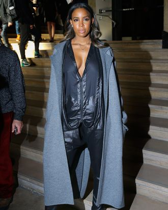 Kelly Rowland at Barbara Bui.