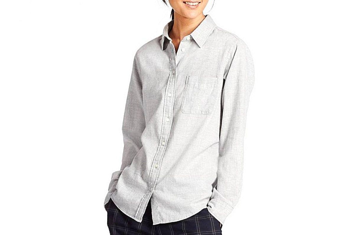 Women's Flannel Long-Sleeve Shirt