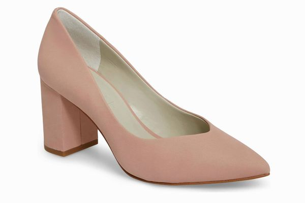 1.State Saffy Block Heel Pump