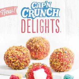 Taco Bell Cinnabon Captain Crunch
