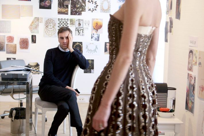 Raf Simons of Dior.